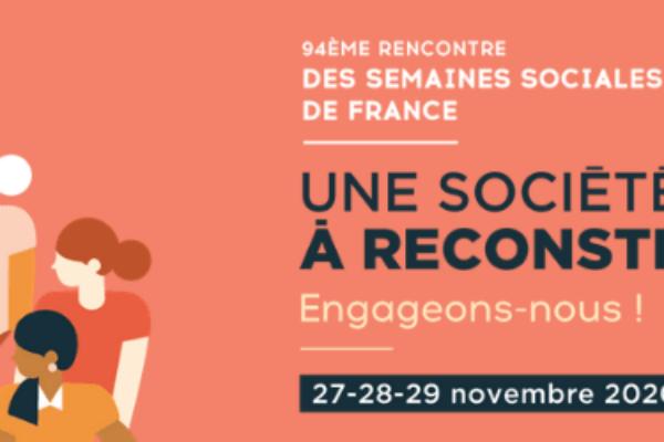 Rencontres des Semaines sociales de France 2020