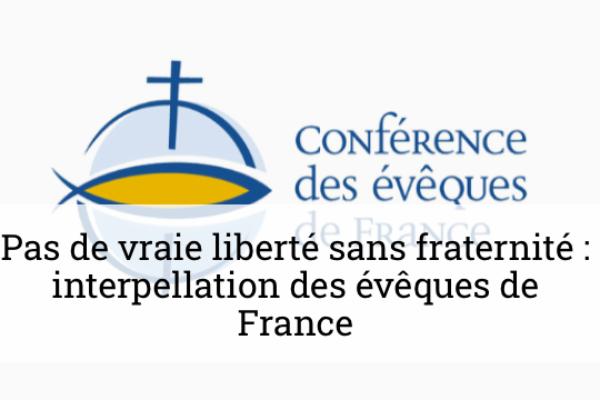 Pas de vraie liberté sans respect et sans fraternité – Interpellation des évêques après les attentats