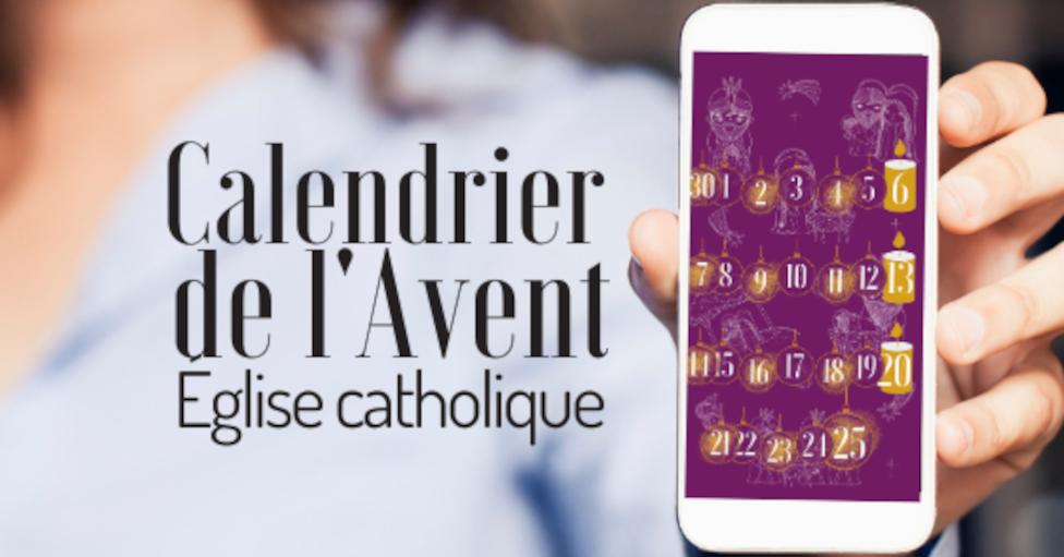 Un calendrier de l'Avent sur votre mobile