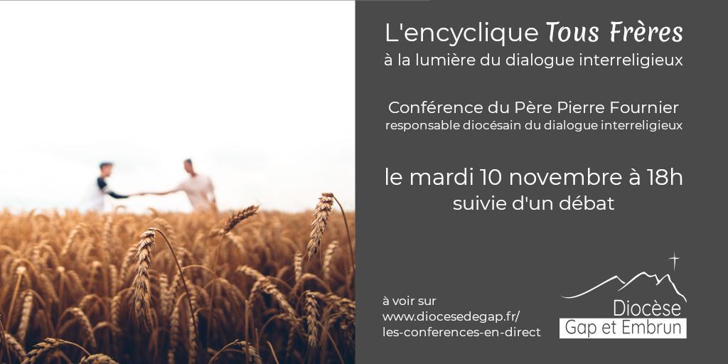 Conférence en direct : Fratelli Tutti