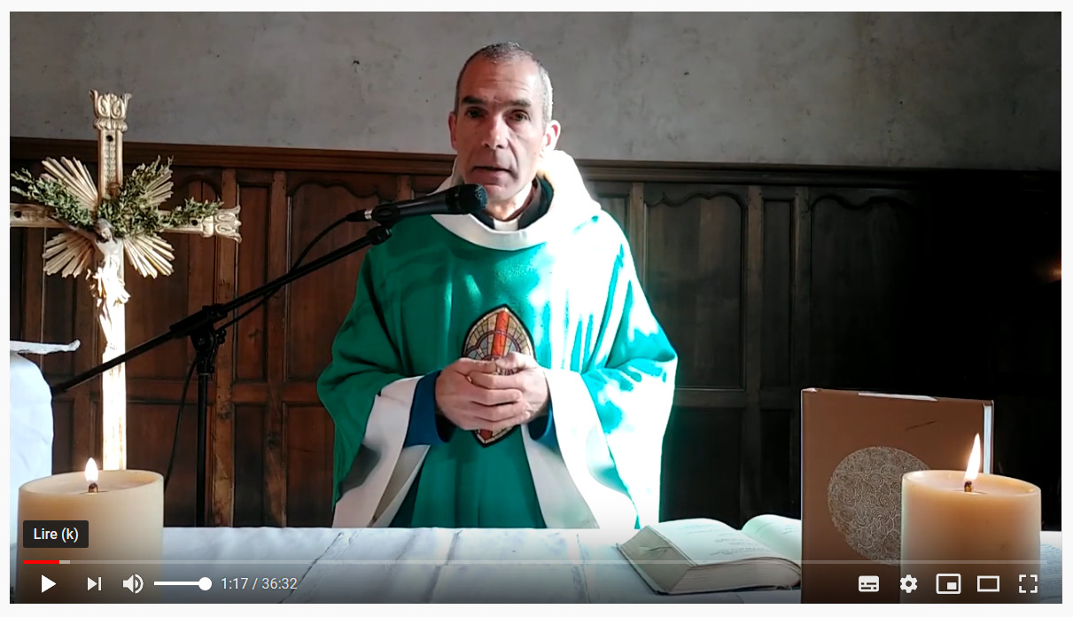 Messe en ligne à Eygliers