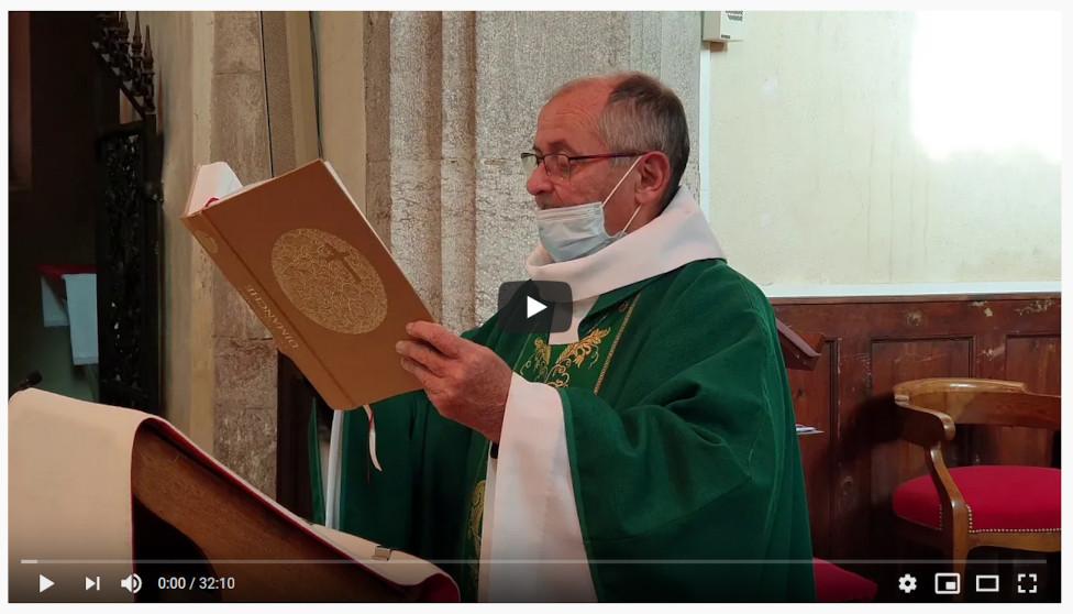 Une messe pour les résidents des maisons de retraite