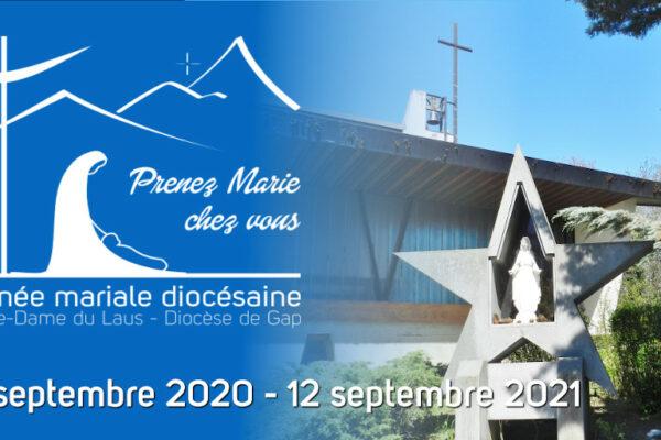 #SaveTheDate Le diocèse renouvellera sa consécration à Marie le 12 septembre