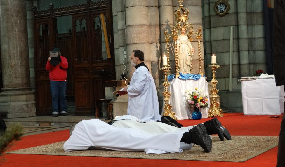 Retour sur l'ordination diaconale de Frédéric Jory et sur l'ordination presbytérale du Père Jean-Nestor Randrianantenaina
