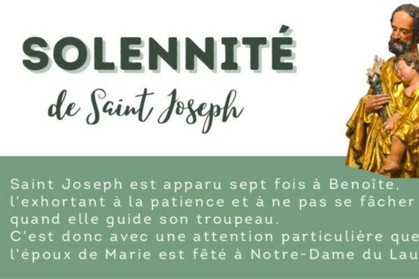 Le Laus fête saint Joseph