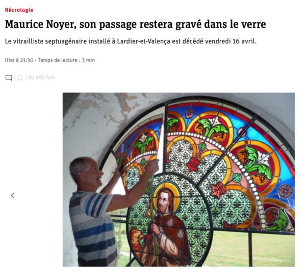 Maurice Noyer Vitrailliste
