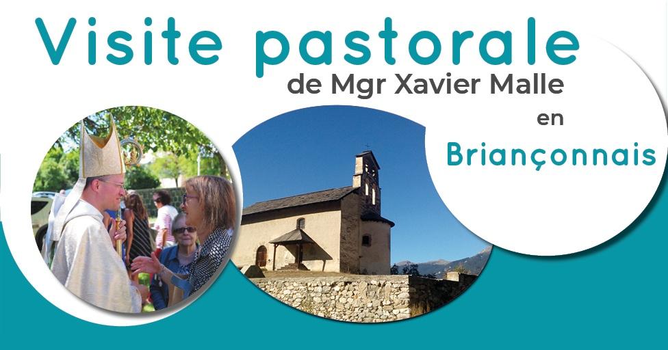 Visite pastorale de Mgr Xavier Malle dans le Briançonnais