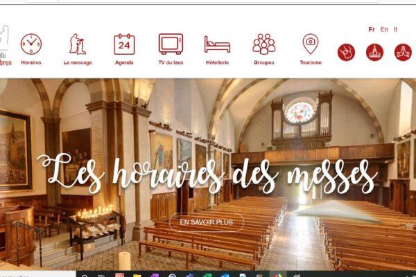 Un nouveau site pour le sanctuaire Notre-Dame du Laus