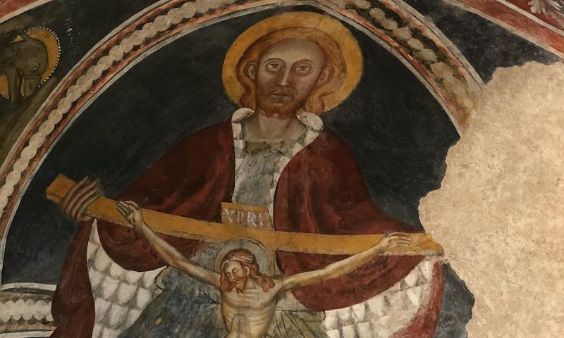 You are currently viewing Les yeux levés au ciel, Jésus priait – Homélie fin de visite pastorale du Briançonnais à Villar St Pancrace le 16 mai 2021