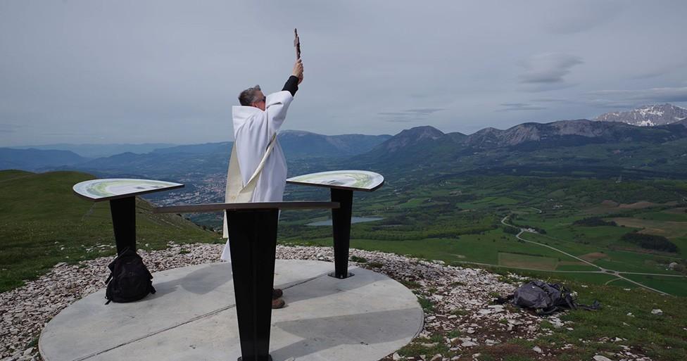Retour en image sur la visite pastorale dans le Haut-Champsaur