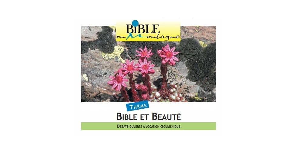 Session Bible en montagne : Bible et beauté