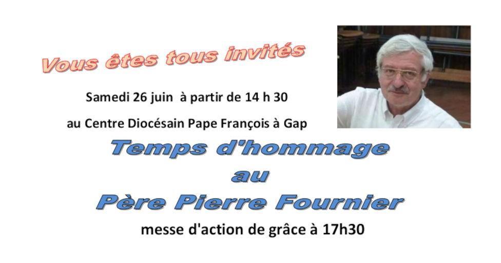 You are currently viewing Temps d'hommage au Père Pierre Fournier