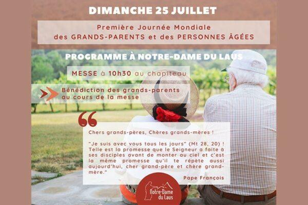 Première journée mondiale pour les grands-parents