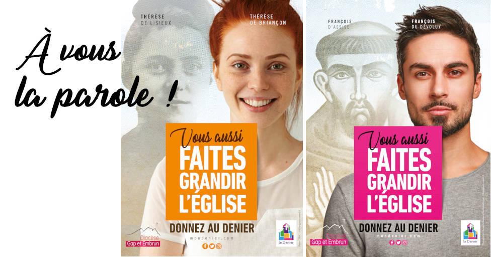 You are currently viewing Donnez-nous votre avis sur la campagne 2021 du Denier !