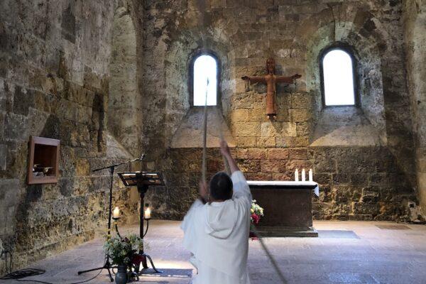 20210808 Puissiez vous chers frères dominicains ne «parler qu'à Dieu ou que de Dieu» ! Homélie à l'Abbaye de Boscodon pour les 800 ans de la mort de saint Dominique