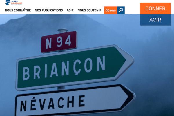 À la frontière franco-italienne : sur le chemin de l'exil – Carnet de route