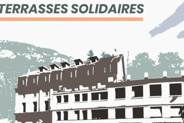 Ouverture des Terrasses solidaires à Briançon
