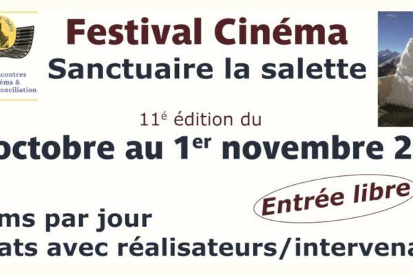 Festival de cinéma à Notre-Dame de La Salette