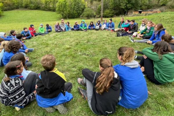 Week-end de rentrée pour les Scouts et Guides de France de Gap